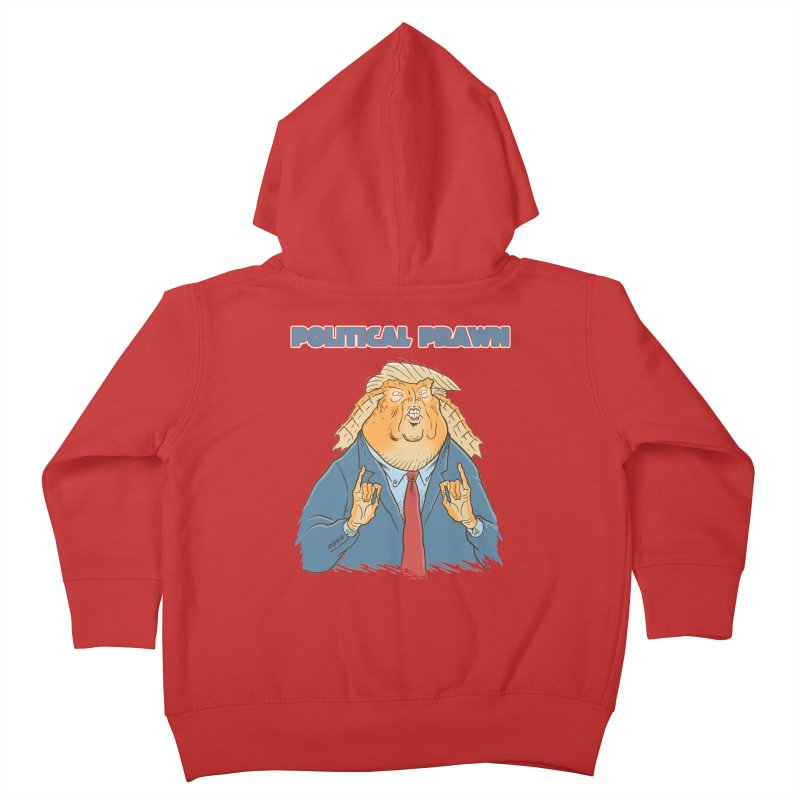 Political Prawn (Jar Jar Trump) Kids Toddler Zip-Up Hoody by Frankenstein's Artist Shop