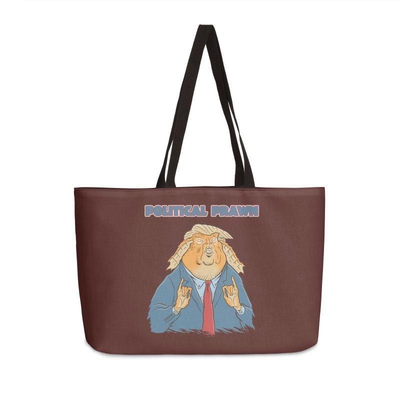 Political Prawn (Jar Jar Trump) Accessories Weekender Bag Bag by Frankenstein's Artist Shop