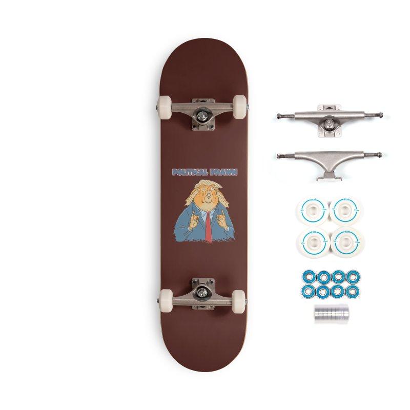 Political Prawn (Jar Jar Trump) Accessories Complete - Basic Skateboard by Frankenstein's Artist Shop
