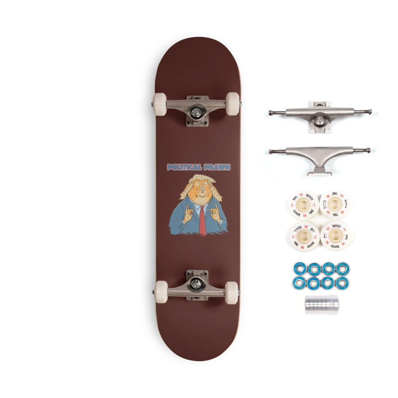Political Prawn (Jar Jar Trump) Accessories Complete - Premium Skateboard by Frankenstein's Artist Shop