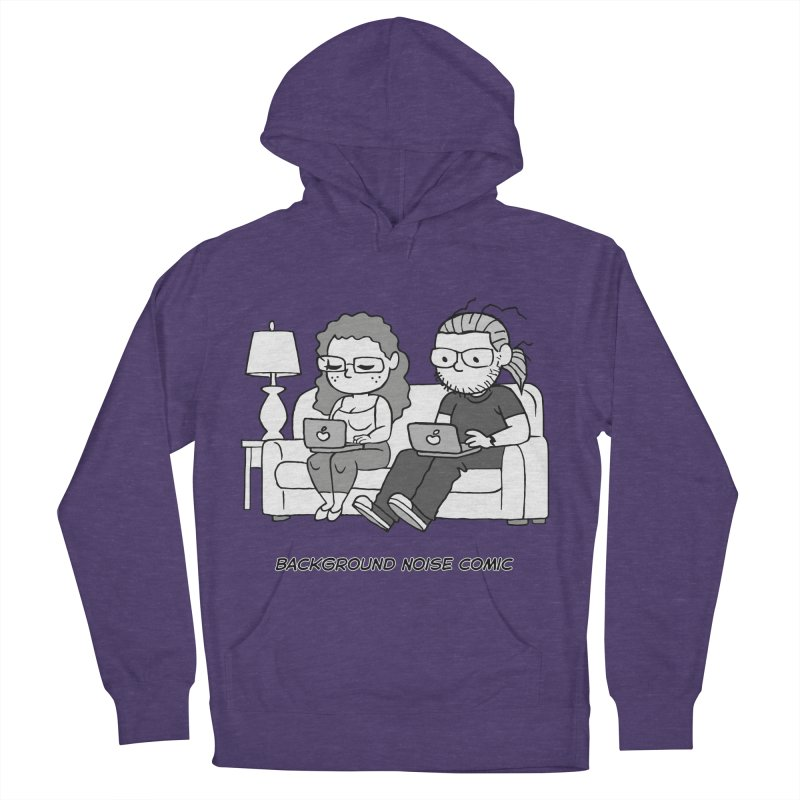 Background Noise Couch Women's French Terry Pullover Hoody by Frankenstein's Artist Shop