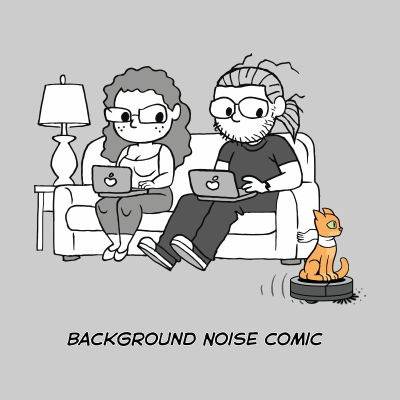 Background Noise Couch (with Danny Cat!) by Frankenstein's Artist Shop