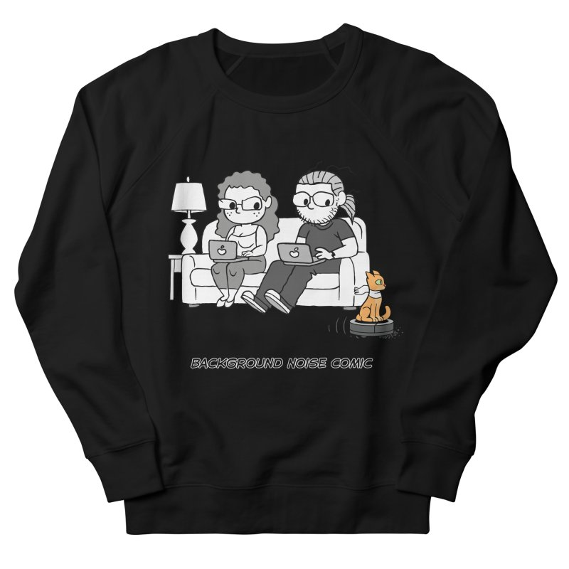 Background Noise Couch (with Danny Cat!) Men's French Terry Sweatshirt by Frankenstein's Artist Shop