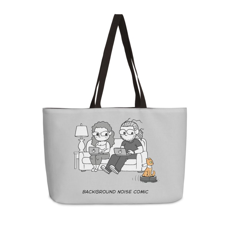 Background Noise Couch (with Danny Cat!) Accessories Weekender Bag Bag by Frankenstein's Artist Shop