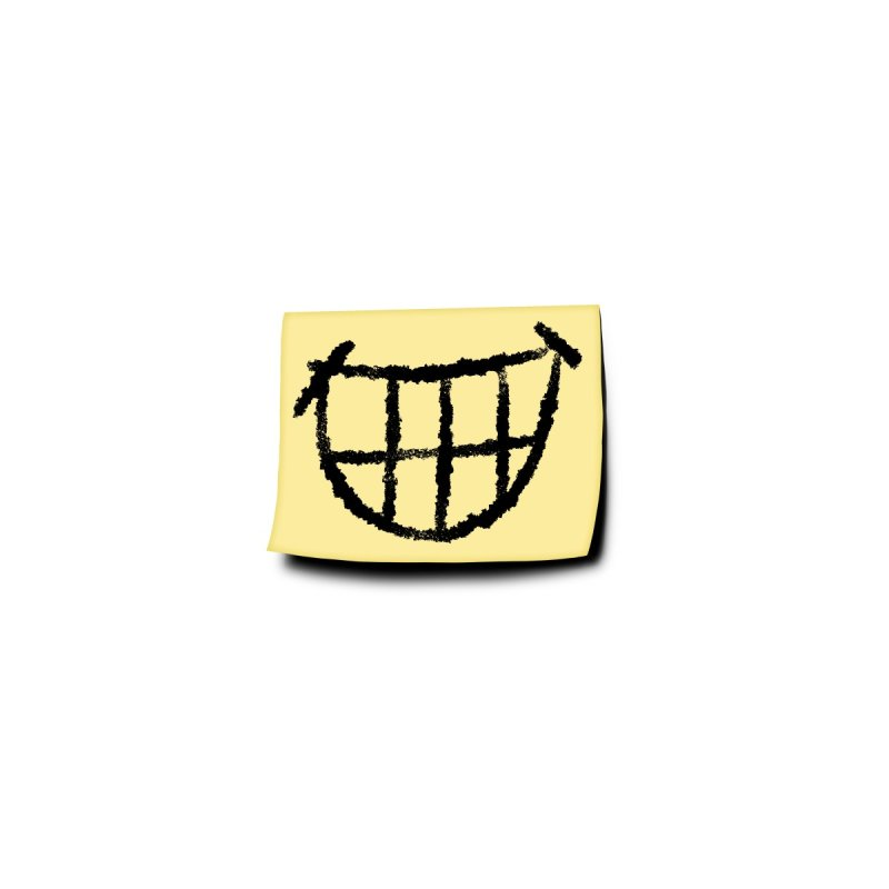 Pasted-On Smile Mask Accessories Face Mask by Frankenstein's Artist Shop