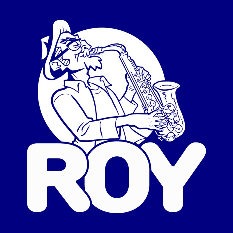 Roy (White-on-Color Version) by Frankenstein's Artist Shop