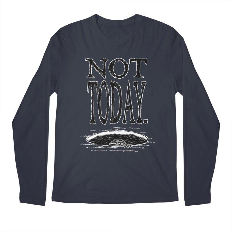 Not Today. Men's Longsleeve T-Shirt by Frankenstein's Artist Shop