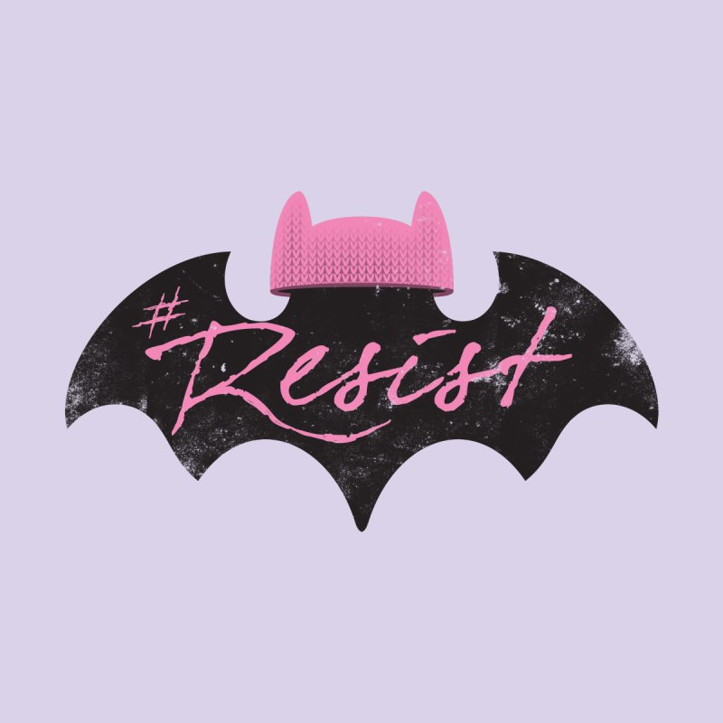 Pussy Bat (Resist!) Men's Triblend Tank by Frankenstein's Artist Shop