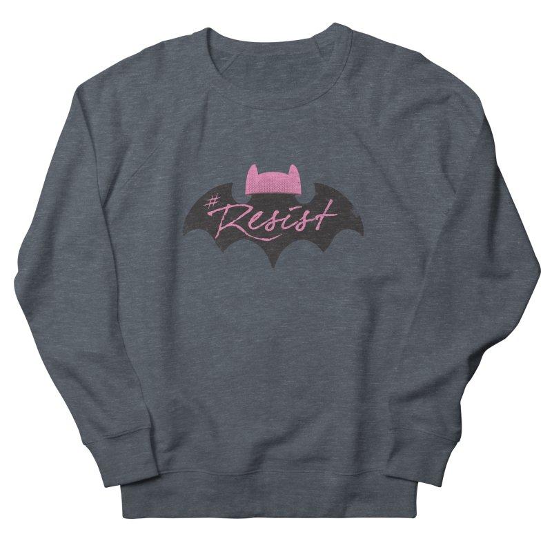 Pussy Bat (Resist!) Women's Sweatshirt by Frankenstein's Artist Shop