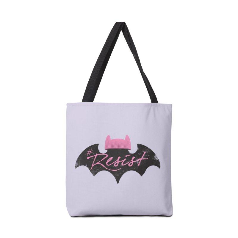 Pussy Bat (Resist!) Accessories Bag by Frankenstein's Artist Shop