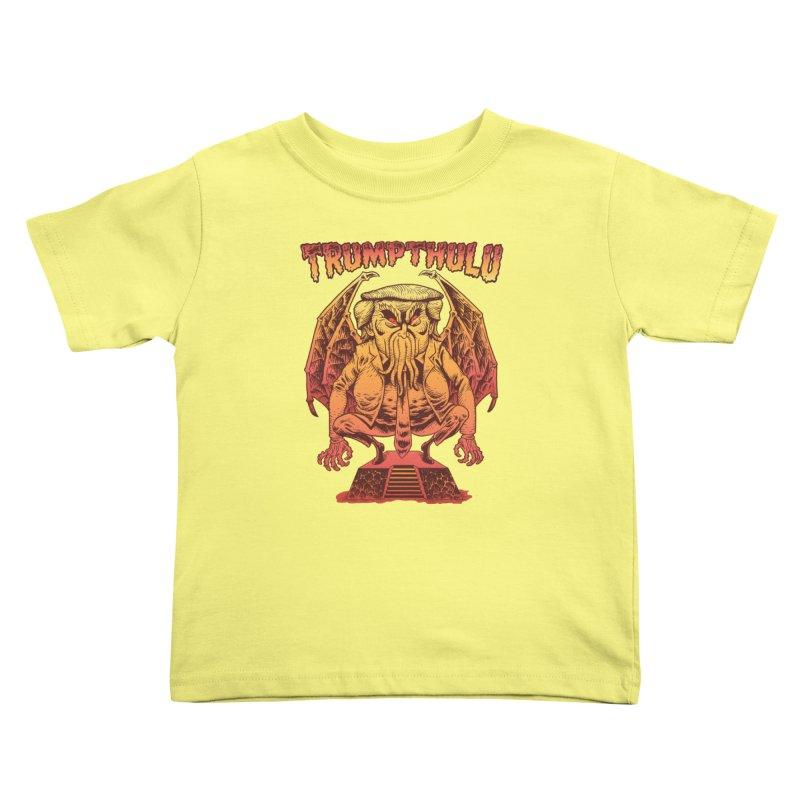 TRUMPTHULU Kids Toddler T-Shirt by Frankenstein's Artist Shop