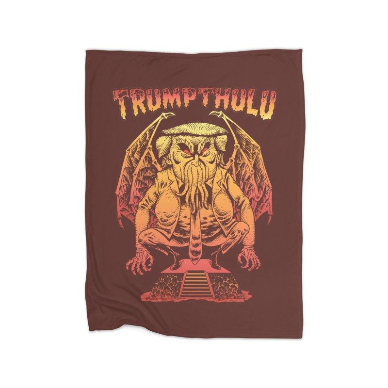 TRUMPTHULU Home Blanket by Frankenstein's Artist Shop