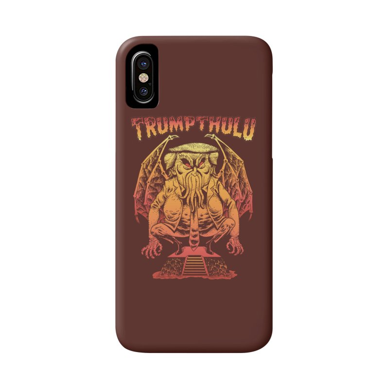 TRUMPTHULU Accessories Phone Case by Frankenstein's Artist Shop