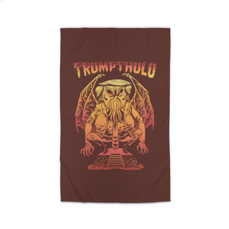 TRUMPTHULU Home Rug by Frankenstein's Artist Shop