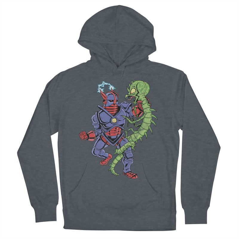NEUTRO vs. SERPENTIPEDE Men's Pullover Hoody by Frankenstein's Artist Shop