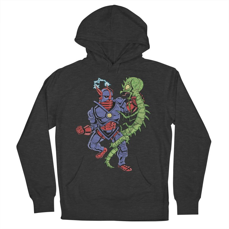 NEUTRO vs. SERPENTIPEDE Men's French Terry Pullover Hoody by Frankenstein's Artist Shop