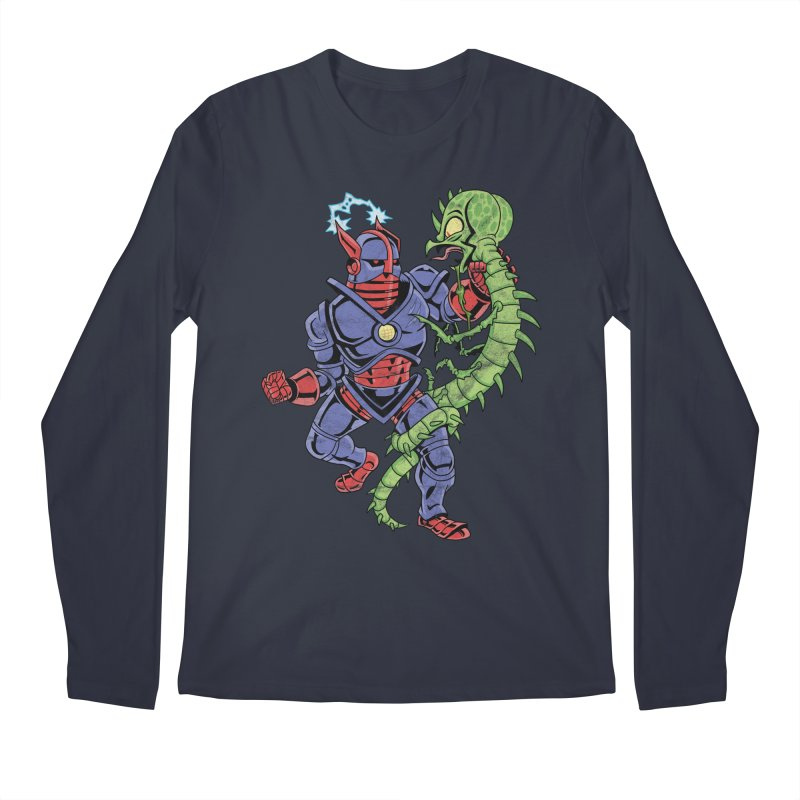 NEUTRO vs. SERPENTIPEDE Men's Longsleeve T-Shirt by Frankenstein's Artist Shop