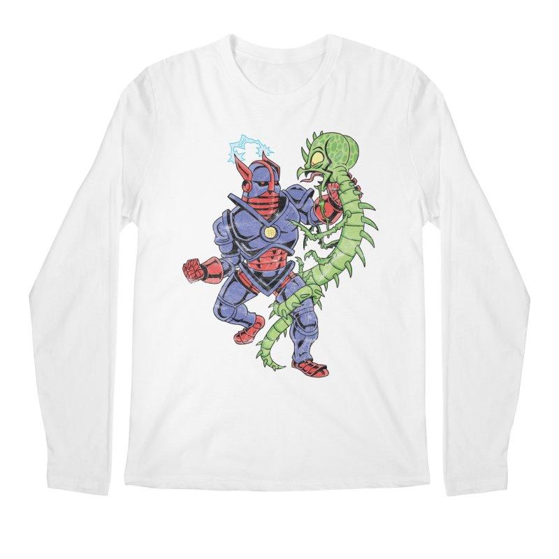 NEUTRO vs. SERPENTIPEDE Men's Regular Longsleeve T-Shirt by Frankenstein's Artist Shop
