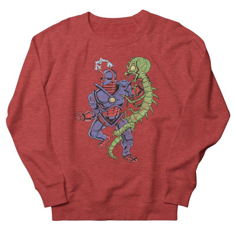 NEUTRO vs. SERPENTIPEDE Men's French Terry Sweatshirt by Frankenstein's Artist Shop