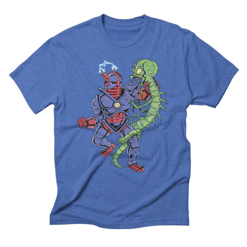 NEUTRO vs. SERPENTIPEDE Men's Triblend T-Shirt by Frankenstein's Artist Shop