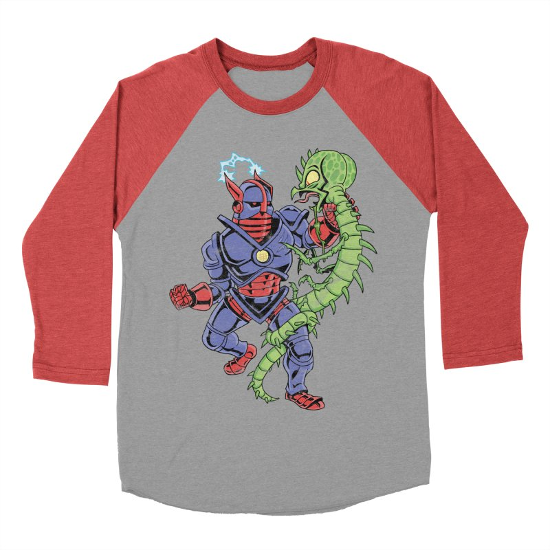 NEUTRO vs. SERPENTIPEDE Women's Baseball Triblend T-Shirt by Frankenstein's Artist Shop