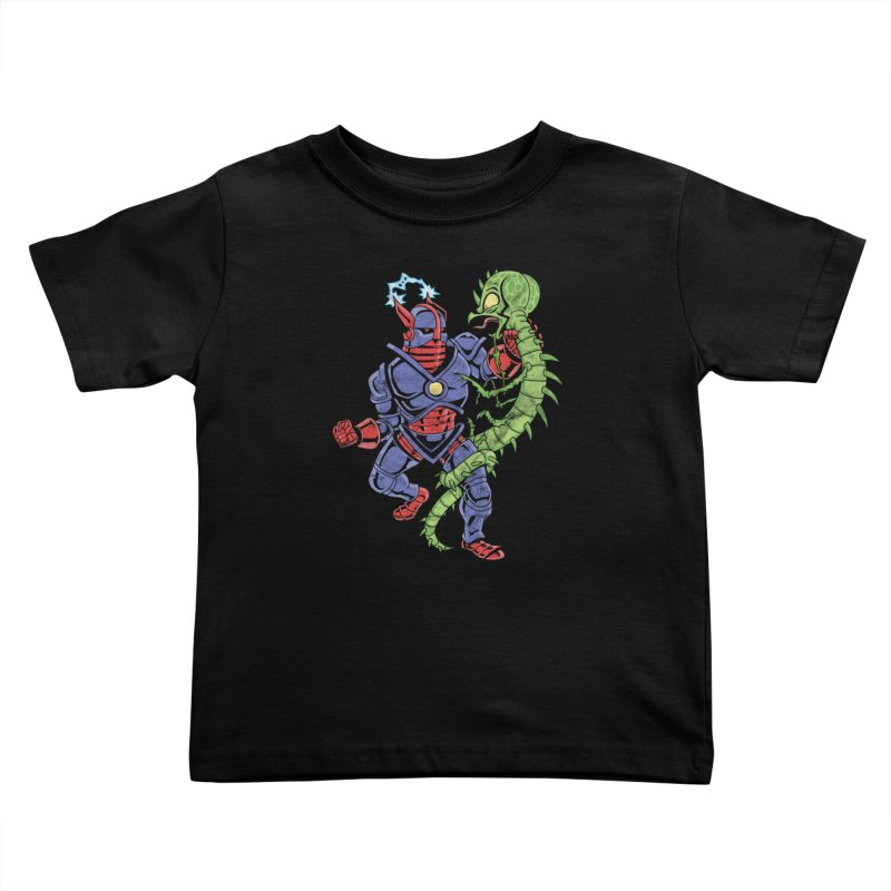 NEUTRO vs. SERPENTIPEDE Kids Toddler T-Shirt by Frankenstein's Artist Shop