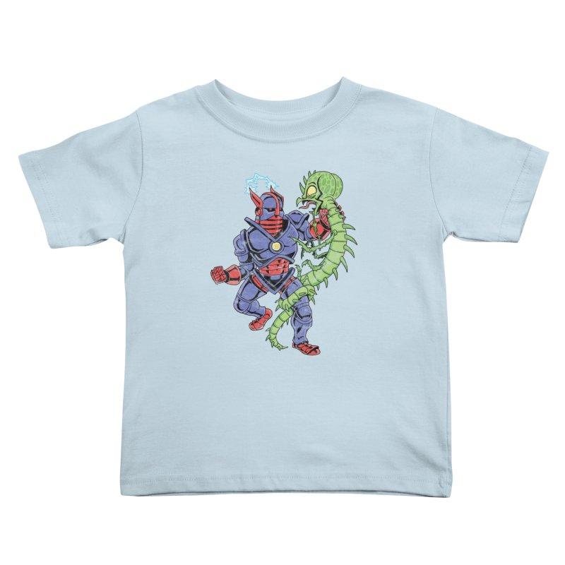 NEUTRO vs. SERPENTIPEDE Kids Toddler T-Shirt by Frankenstein's Artist Shop