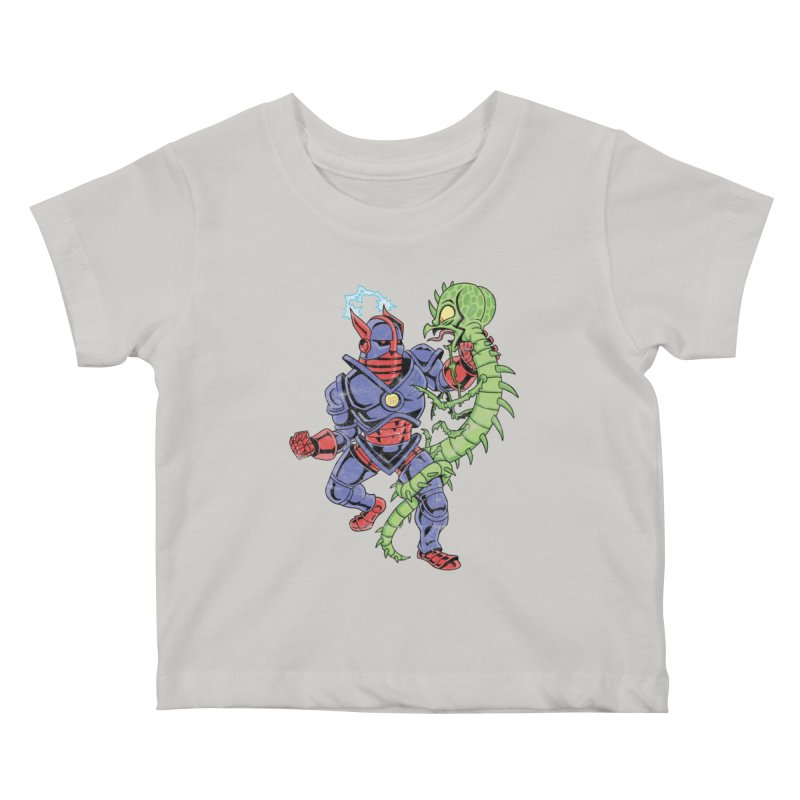 NEUTRO vs. SERPENTIPEDE Kids Baby T-Shirt by Frankenstein's Artist Shop