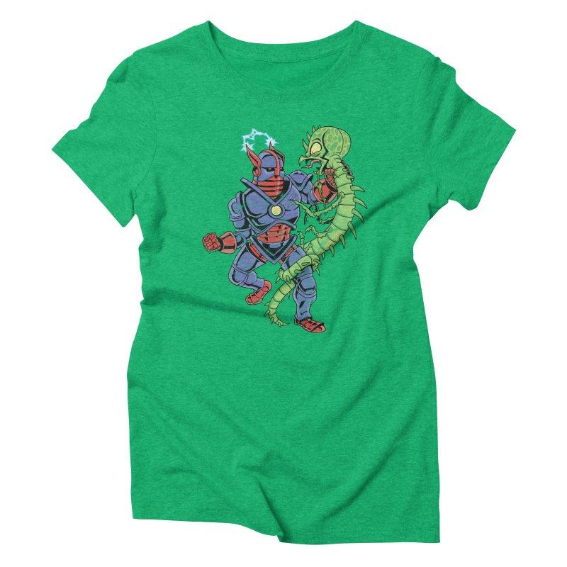 NEUTRO vs. SERPENTIPEDE Women's Triblend T-Shirt by Frankenstein's Artist Shop
