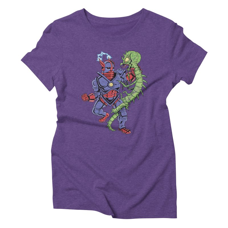 NEUTRO vs. SERPENTIPEDE Women's Triblend T-Shirt by Frankenstein's Artist Shop