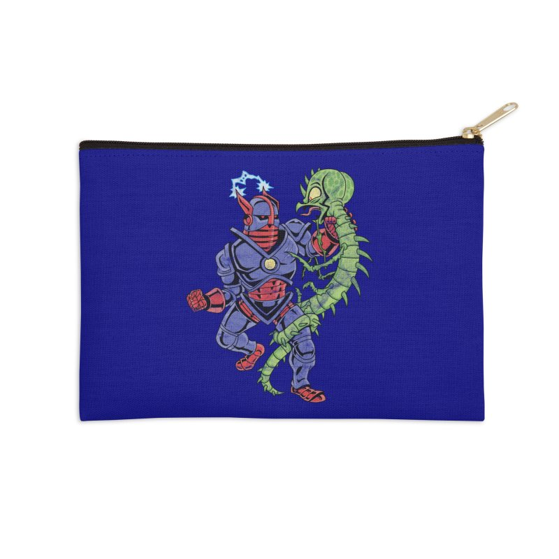 NEUTRO vs. SERPENTIPEDE Accessories Zip Pouch by Frankenstein's Artist Shop