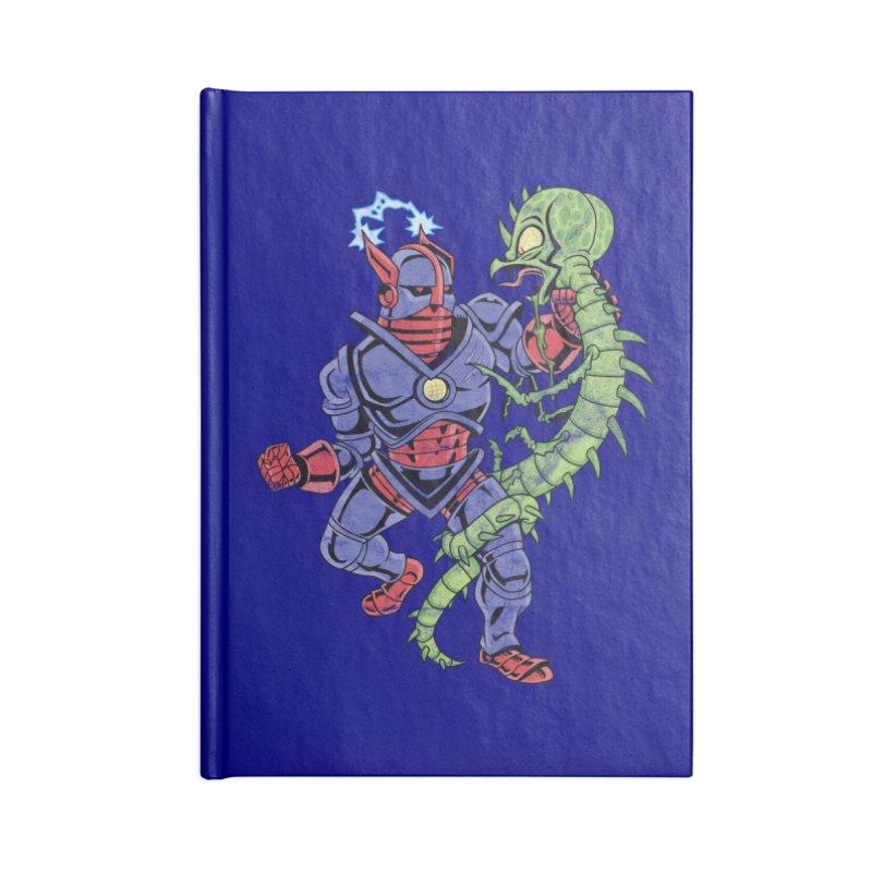 NEUTRO vs. SERPENTIPEDE Accessories Notebook by Frankenstein's Artist Shop
