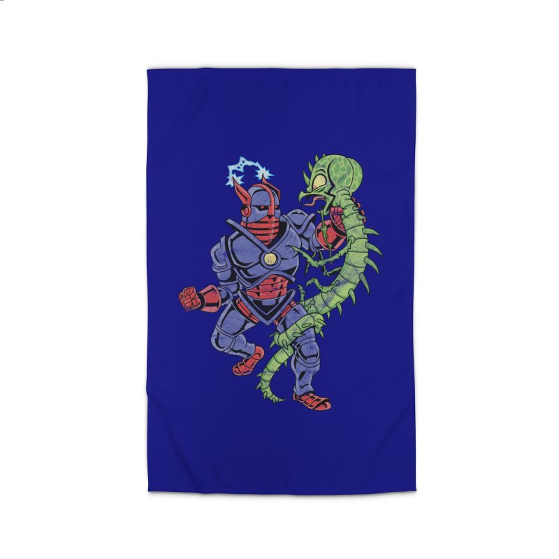 NEUTRO vs. SERPENTIPEDE Home Rug by Frankenstein's Artist Shop