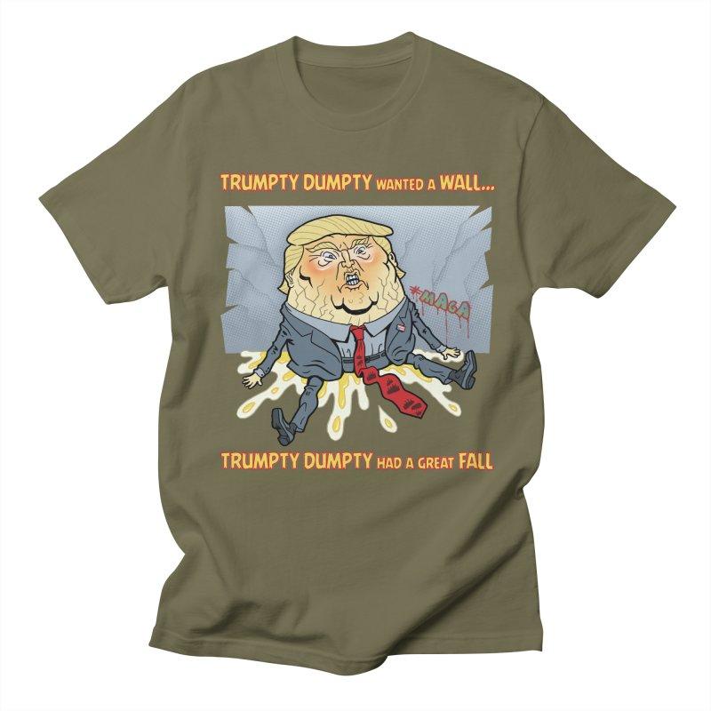 Trumpty Dumpty Wanted a Wall... Women's Unisex T-Shirt by Frankenstein's Artist Shop