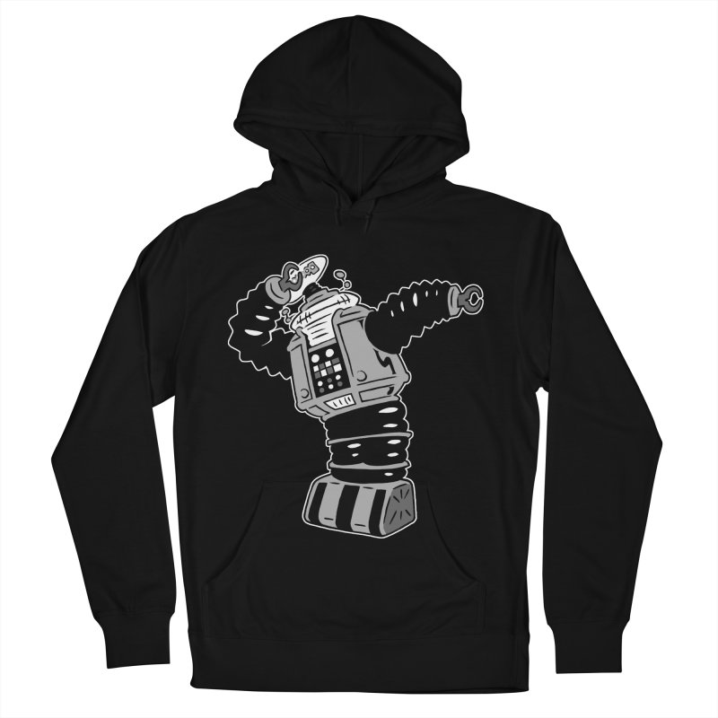 DAB Robot Women's French Terry Pullover Hoody by Frankenstein's Artist Shop