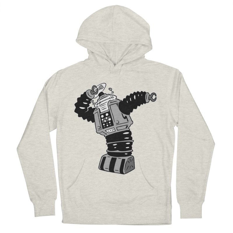DAB Robot Men's French Terry Pullover Hoody by Frankenstein's Artist Shop