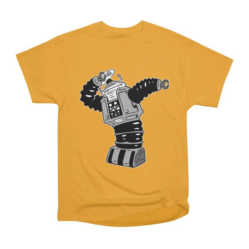 DAB Robot Women's Heavyweight Unisex T-Shirt by Frankenstein's Artist Shop