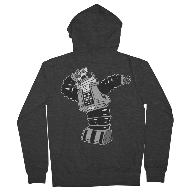 DAB Robot Women's French Terry Zip-Up Hoody by Frankenstein's Artist Shop