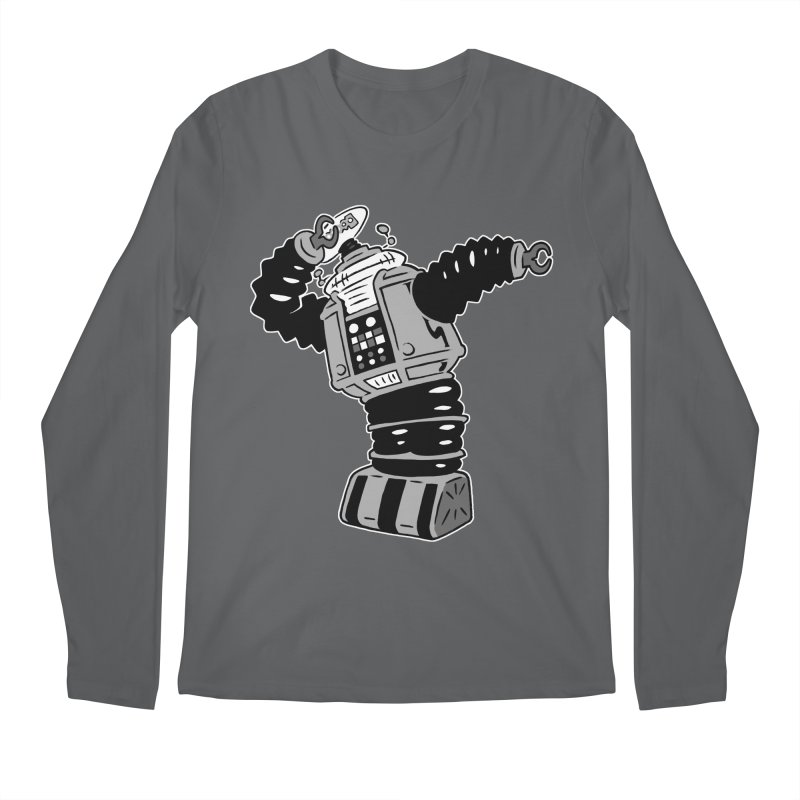 DAB Robot Men's Longsleeve T-Shirt by Frankenstein's Artist Shop