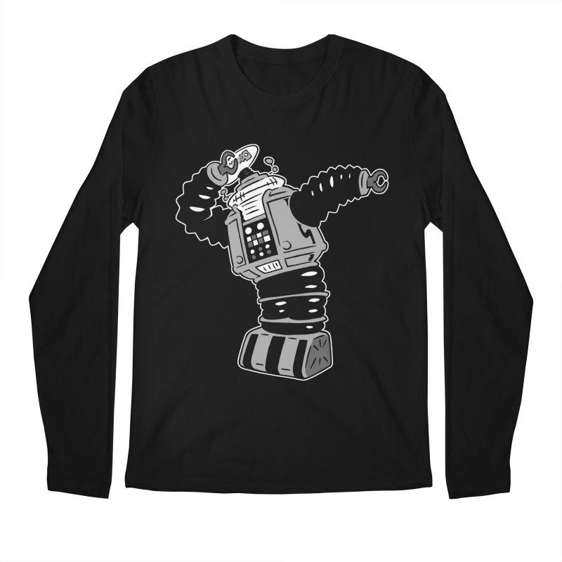 DAB Robot Men's Regular Longsleeve T-Shirt by Frankenstein's Artist Shop