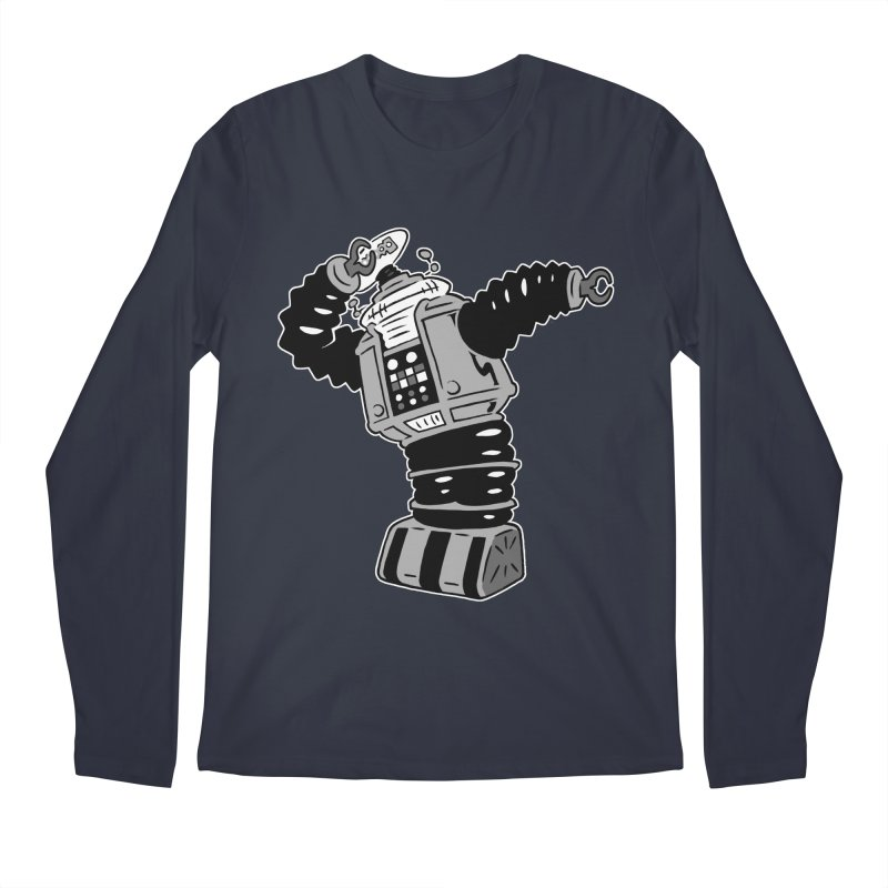 DAB Robot Men's Regular Longsleeve T-Shirt by Frankenstein's Artist Shop