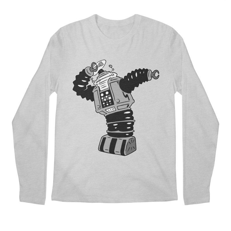 DAB Robot Men's Longsleeve T-Shirt by Frankenstein's Artist Shop