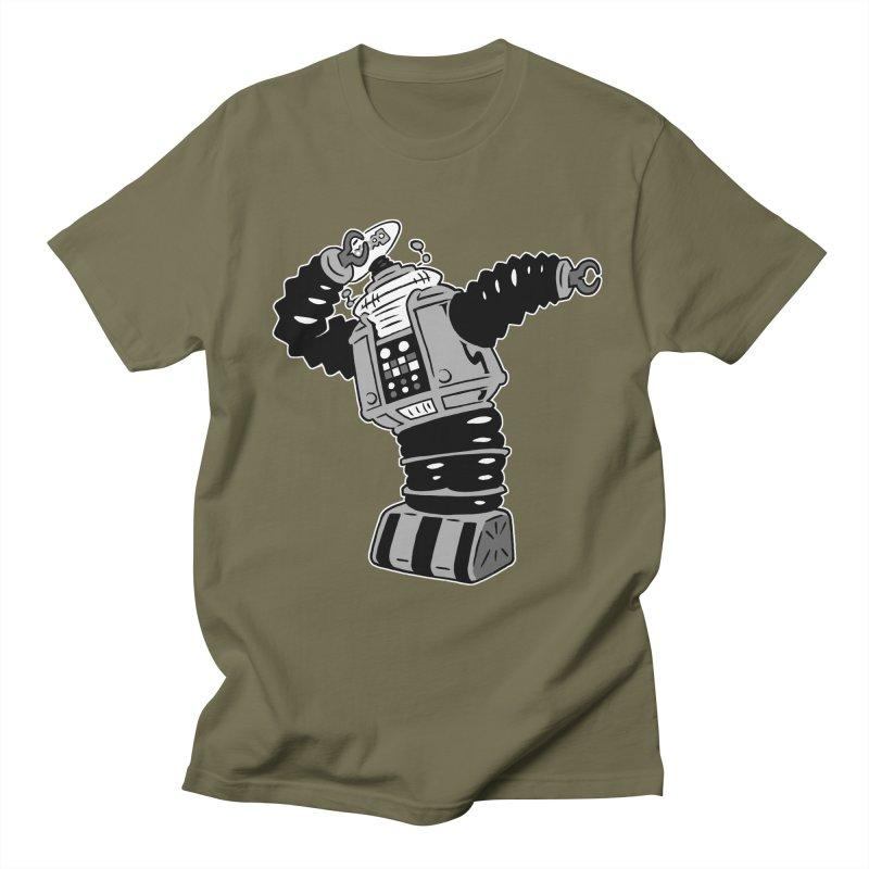 DAB Robot Women's Regular Unisex T-Shirt by Frankenstein's Artist Shop