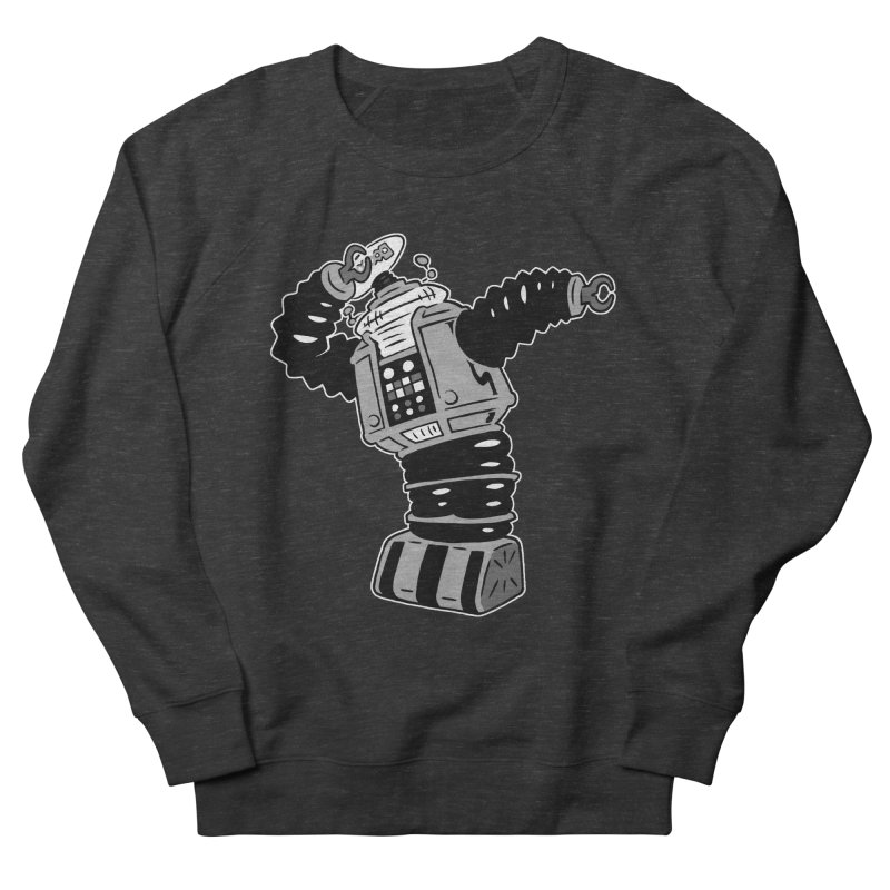 DAB Robot Women's French Terry Sweatshirt by Frankenstein's Artist Shop