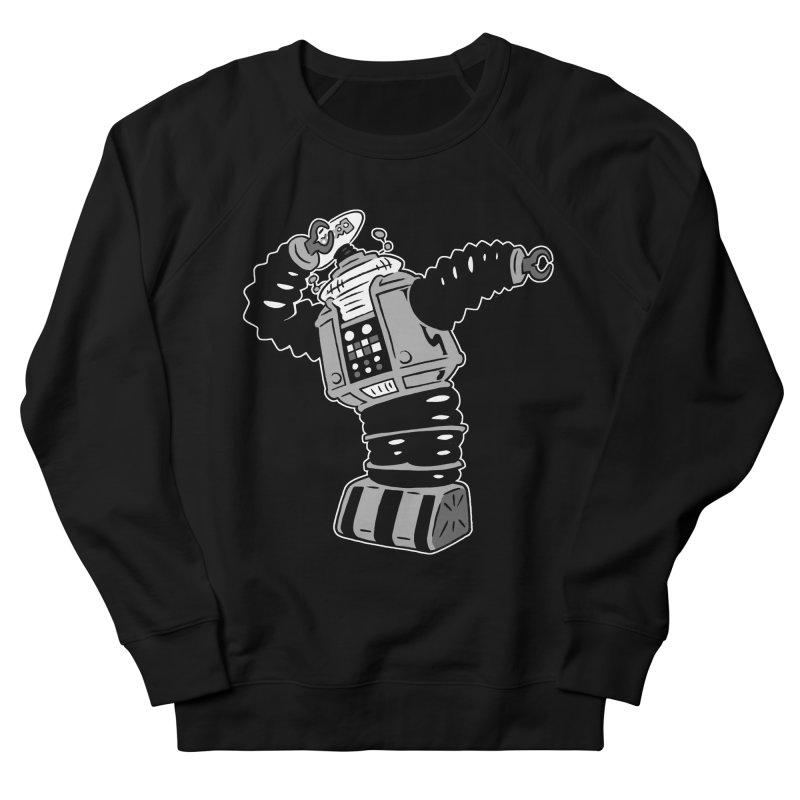 DAB Robot Men's French Terry Sweatshirt by Frankenstein's Artist Shop
