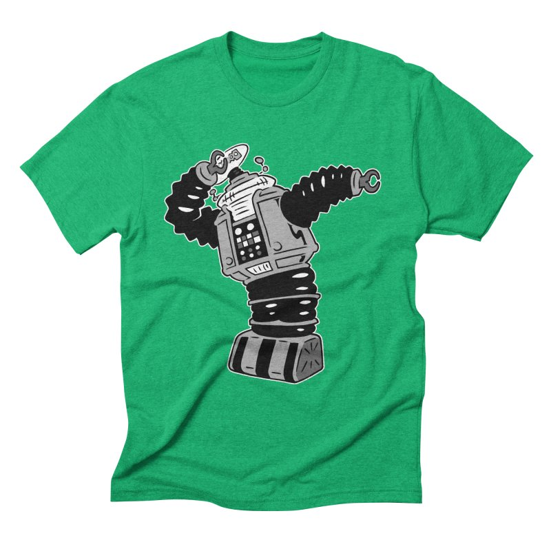 DAB Robot Men's Triblend T-Shirt by Frankenstein's Artist Shop