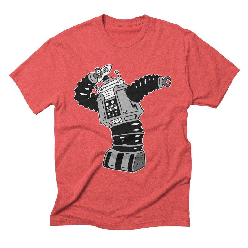DAB Robot Men's Triblend T-Shirt by Frankenstein's Artist Shop