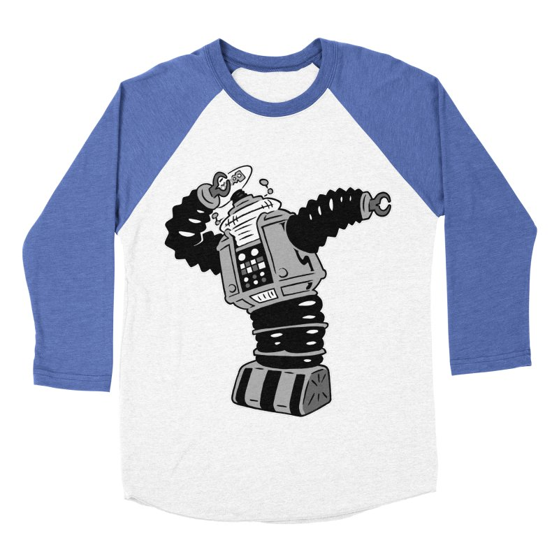 DAB Robot Women's Baseball Triblend Longsleeve T-Shirt by Frankenstein's Artist Shop