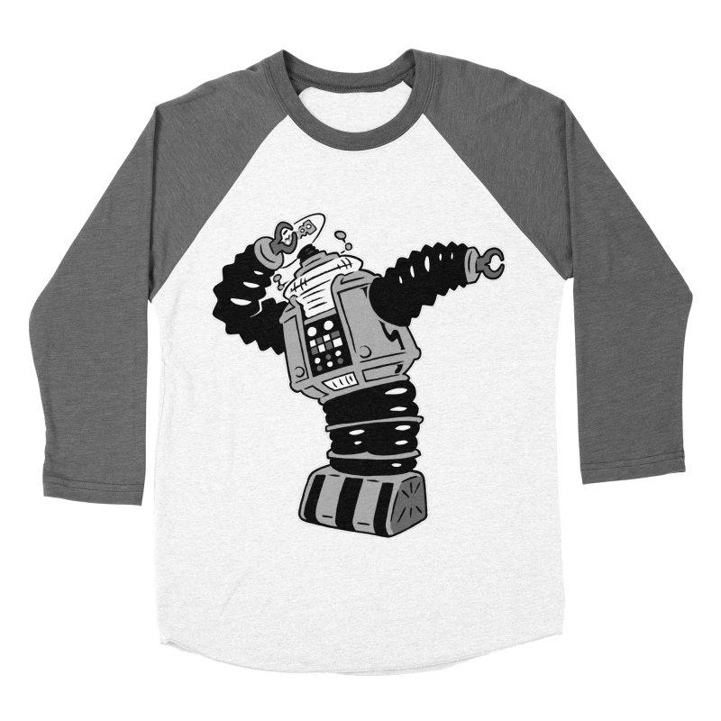 DAB Robot Women's Baseball Triblend T-Shirt by Frankenstein's Artist Shop