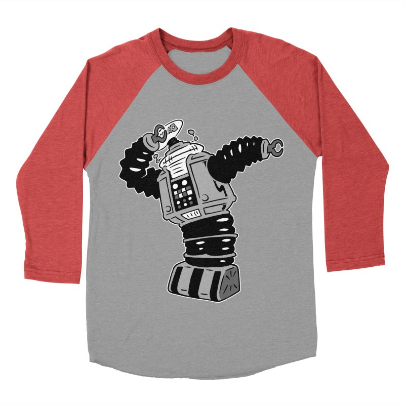 DAB Robot Women's Baseball Triblend T-Shirt by Frankenstein's Artist Shop